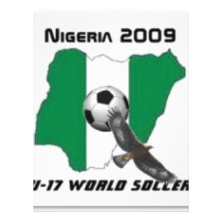 Le football du Nigéria Tract Personnalisé