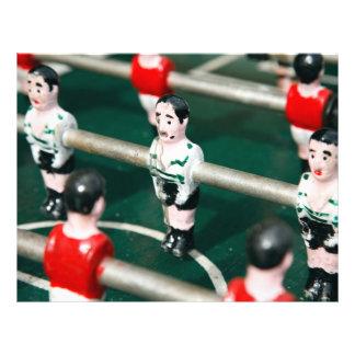 Le football/football de Tableau Prospectus En Couleur