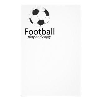 Le football : jouez et appréciez prospectus 14 cm x 21,6 cm