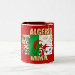 Le football MMX Afrique du football de l'Algérie 2 Tasses À Café
