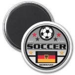 Le football vivant Allemagne d'amour Magnets Pour Réfrigérateur