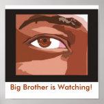 Le frère observe ! posters