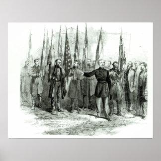 Le Général Custer Poster