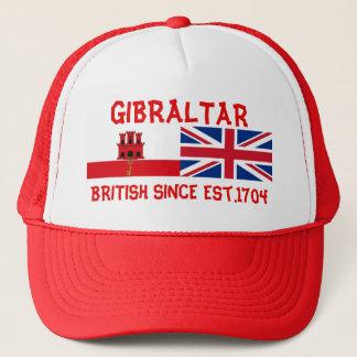 Le Gibraltar les Anglais depuis le casquette des