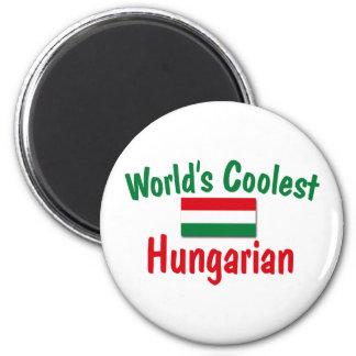 Le Hongrois le plus frais Magnet Rond 8 Cm
