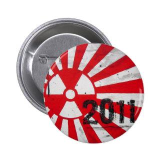 Le Japon 2011… dans la mémoire Badge Rond 5 Cm