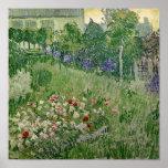Le jardin de Daubigny, 1890 Posters