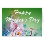 Le jour de mère heureux cartes de vœux