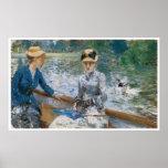 Le jour d'été, Berthe Morisot 1879 Poster