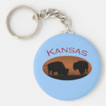 Le Kansas Porte-clé Rond