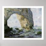 Le Manneporte par Claude Monet Posters