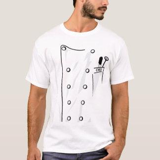 Le manteau du chef t-shirt