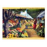 Le marché de l'agriculteur original, Hollywood, la Carte Postale