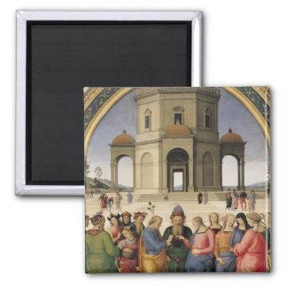 Le mariage de la Vierge, 1500-04 Aimants Pour Réfrigérateur