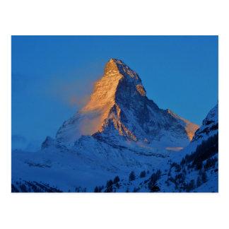 Le Matterhorn, la montagne des montagnes Cartes Postales