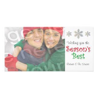 Le meilleur carte photo personnalisable de la sais cartes de vœux avec photo