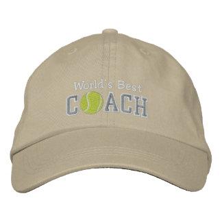 Le meilleur entraîneur de tennis du monde casquettes brodées