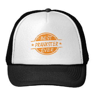Le meilleur espiègle toujours orange casquette de camionneur