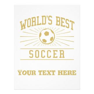 Le meilleur football du monde [MAMAN] Prospectus Customisé