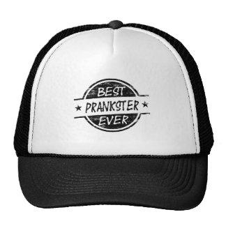 Le meilleur noir d espiègle jamais casquettes de camionneur