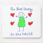 Le meilleur papa au monde tapis de souris