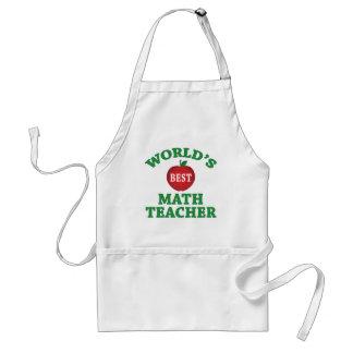 Le meilleur professeur de maths du monde tablier