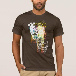 Le montage de néon de joker t-shirt