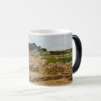 Le mur de Hadrian, le Northumberland, Angleterre Mug Magic