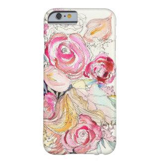 Le néon fleurit cas de l'iPhone 6 Coque Barely There iPhone 6
