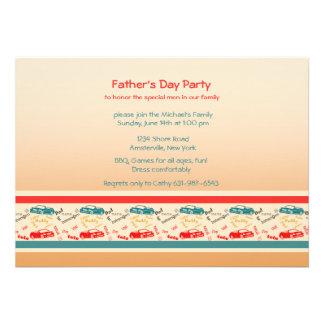 Le père exprime l invitation de fête des pères