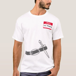 Le pirate d'Emo mon nom EST - Arrrr T-shirt