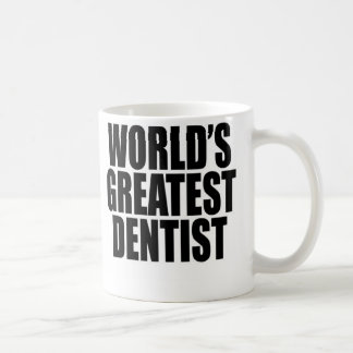 Le plus grand dentiste du monde mug à café