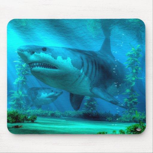 Le plus grand requin tapis de souris zazzle for Surface minimum bureau code du travail