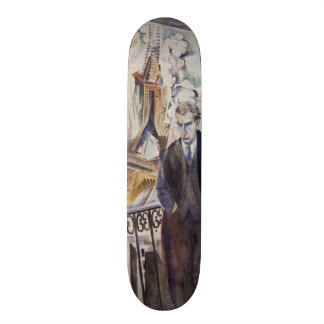 Le Poète Philippe Soupault durch Robert Delaunay Personalisiertes Skatedeck