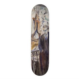 Le Poète Philippe Soupault par Robert Delaunay 192 Skateboards Cutomisables