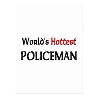 Le policier le plus chaud des mondes cartes postales