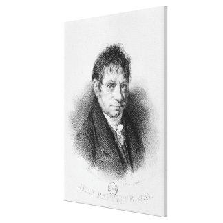 Le portrait en Jean Baptiste indiquent Toiles Tendues