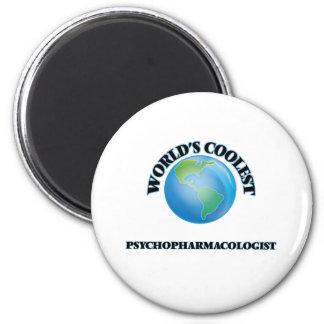Le Psychopharmacologist le plus frais du monde Magnets Pour Réfrigérateur