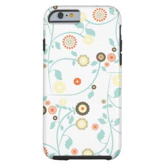 Le ressort fleurit le motif floral chic rustique g coque iPhone 6 tough