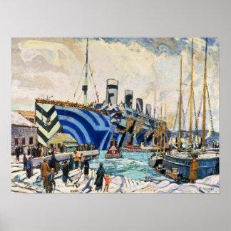 Le RMS olympique brillent dedans affiche du