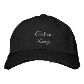 Le Roi Custom Embroidered Cap/chapeau de guitare Chapeaux Brodés