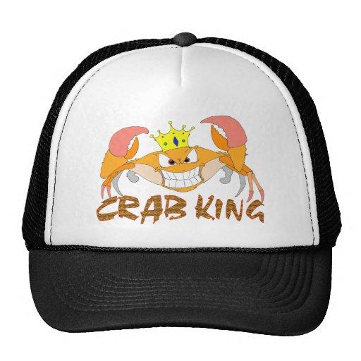 Le Roi Hat de crabe Casquette De Camionneur