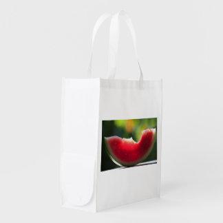Le sac réutilisable se débarassent des sachets en sac d'épicerie