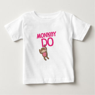 Le singe font la chemise tee-shirt