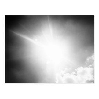 Le soleil de BW Carte Postale