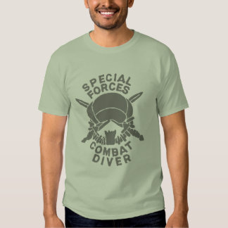 Le Special Force Combat Diver Tee-shirts