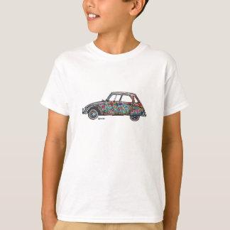 Le T-shirt avec flower power Citroën Dyane