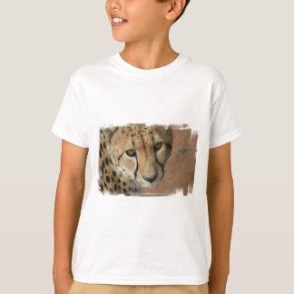 Le T-shirt de l'enfant de chat de guépard