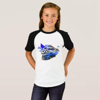 Le T-shirt des filles d'adaptateur de mustang
