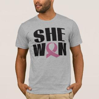Le T-shirt du cancer du sein des hommes ELLE A